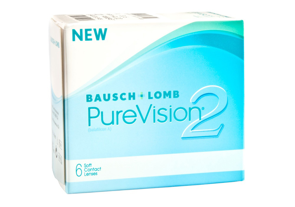 Bausch & Lomb PureVision 2   $60.00 per box
