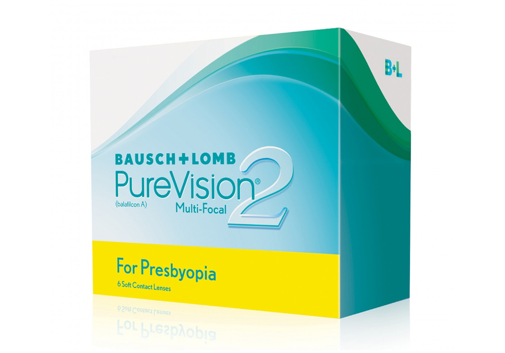 Bausch & Lomb PureVision 2     for P    resbyopia   $85.00 per box