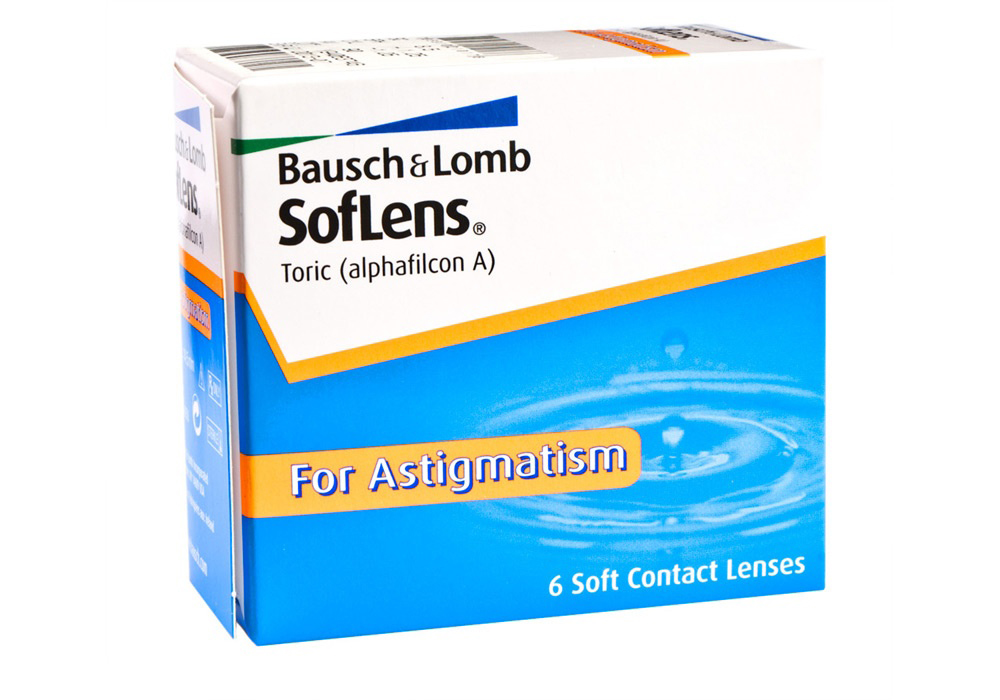 Bausch & Lomb    SofLens Toric   $75.00per box