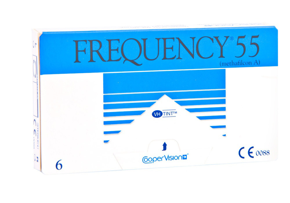 CooperVision     F    requency 55   $38.00 per box