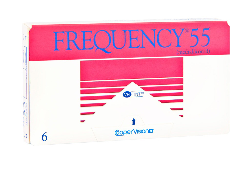 CooperVision     F    requency 55 Toric   $70.00 per box