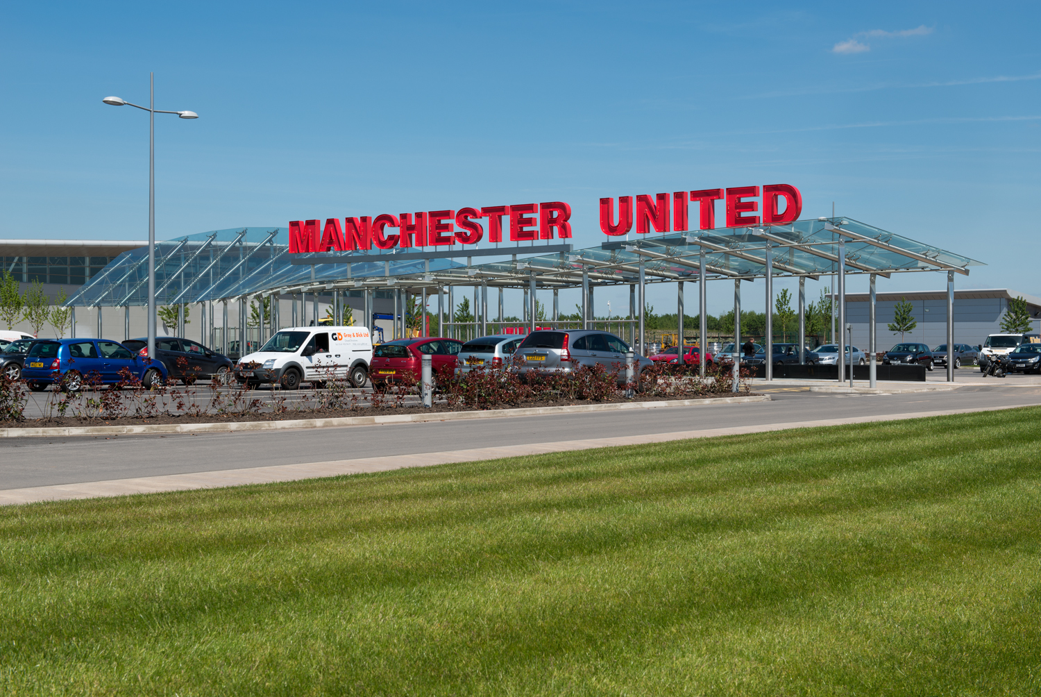 Manchester United Football Club Carrington Training Ground Architectural Photographer David Millington Photography Ltd North West Uk