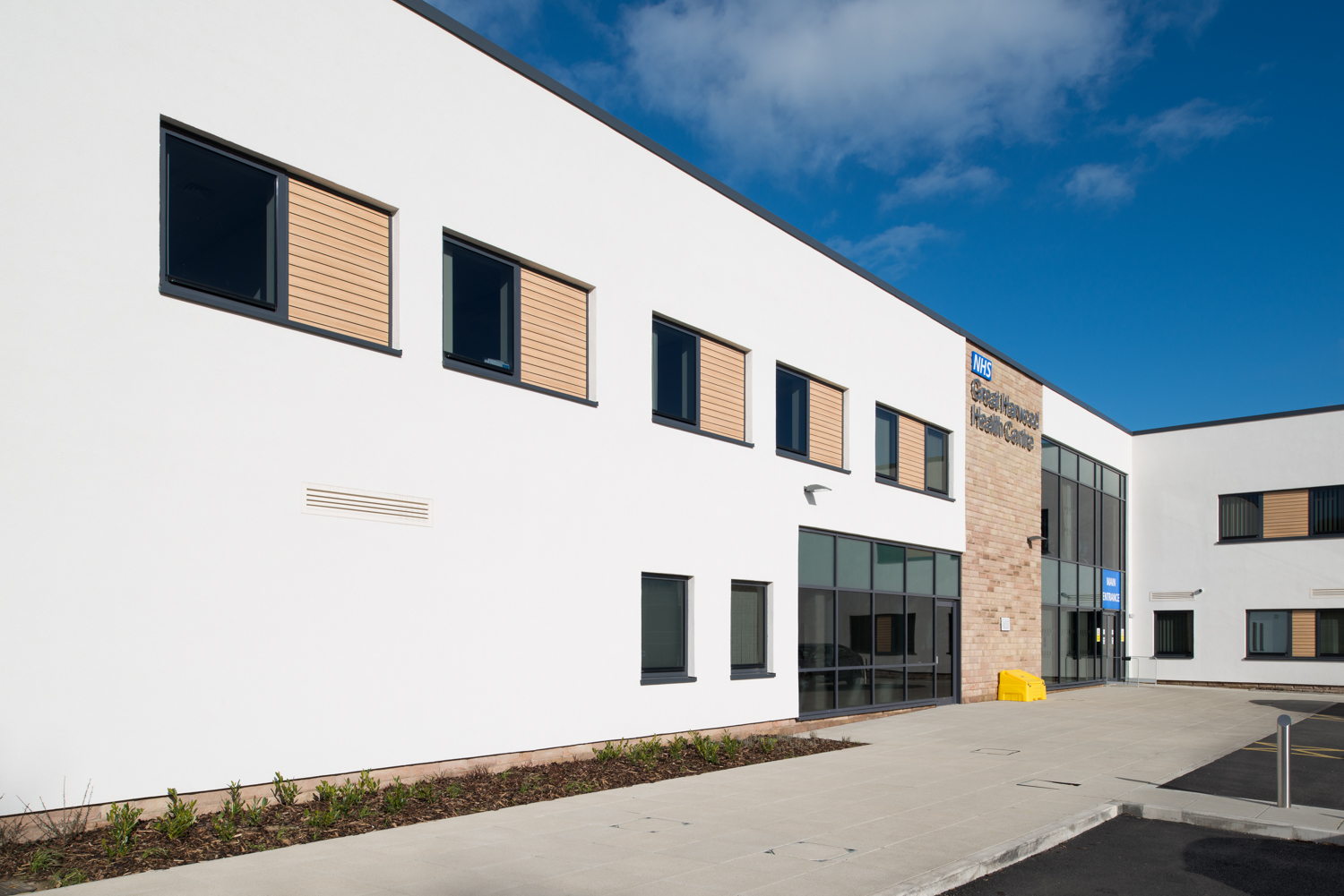 NHS Great Harwood Health Centre | Architects: IBI Nightingale | Main Contractor: Eric Wright Construction