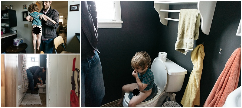 he's sort of interested in potty training. kind of.