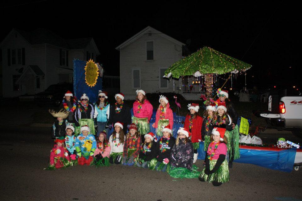 Marshall Christmas Parade winning float!