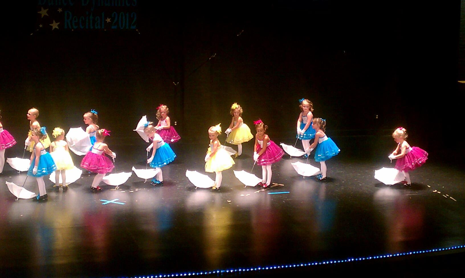 Pre-School Combo students performing at recital.