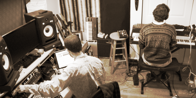 in the studio (The Coach House), nov 2013