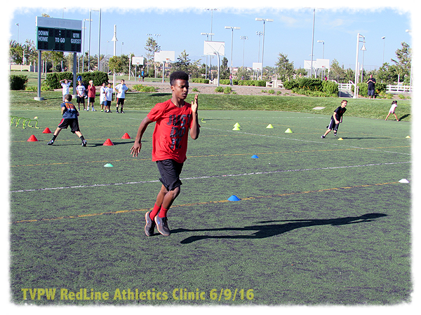 Speed, footwork, agility...and a lot of fun.