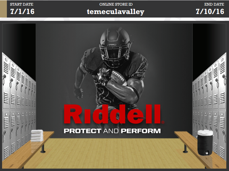 Special Sale for Temecula Valley Pop Warner, July 1-10, 2016