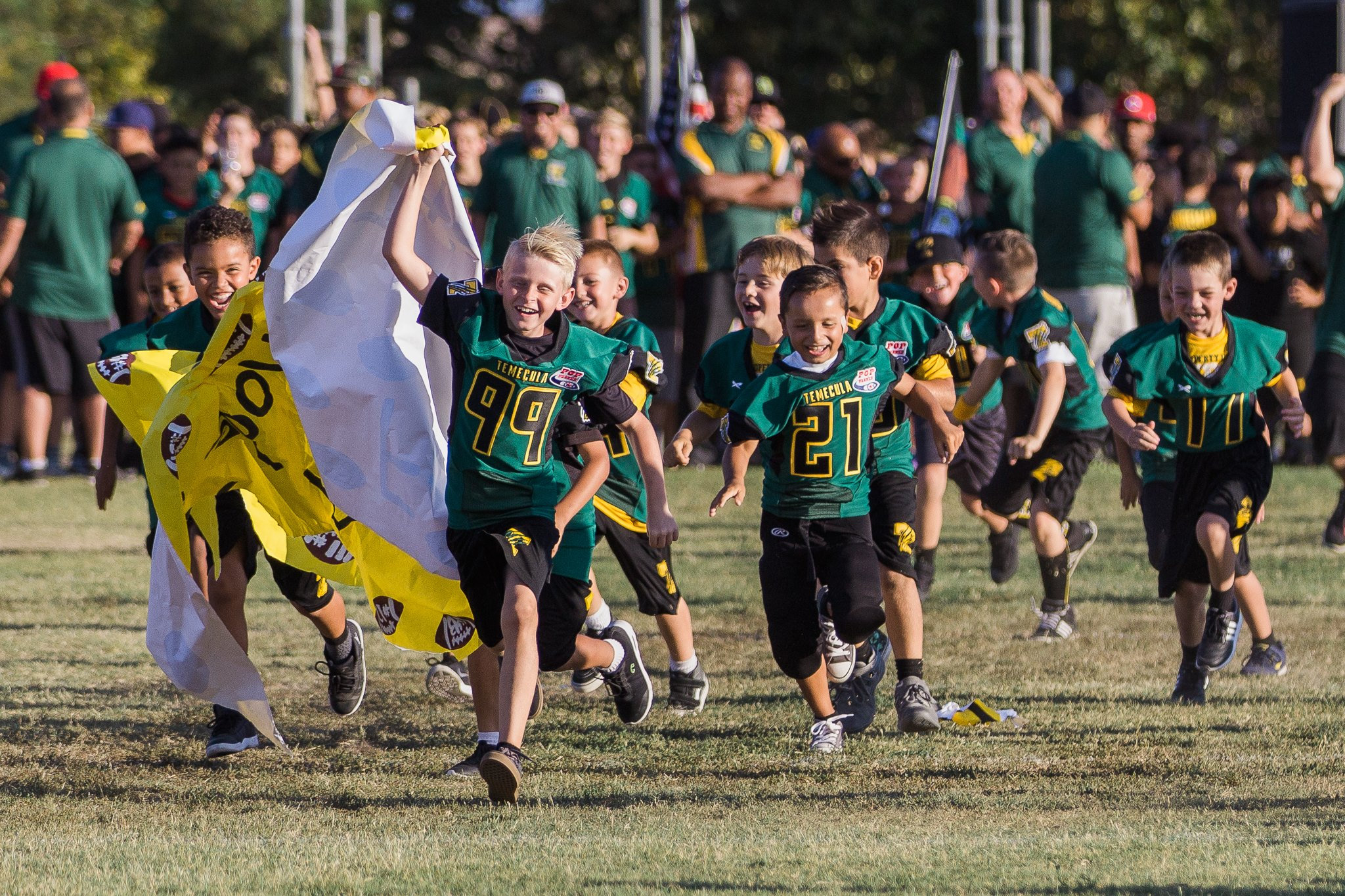 2017 TVPW Carnival - more than 700 supporters were in attendance to preview fourteen football teams, four cheer teams and local vendors.