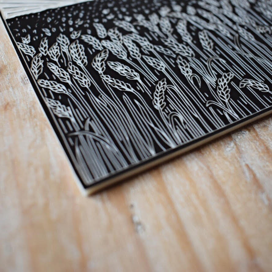 HANNAH COUSINS      Hannah Cousins is a printmaker based in Bristol. She'll be selling hand-printed linocut Christmas cards.