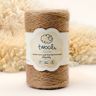 TWOOL      A range of British wool garden twine, dog leads and woolly bags - all made from Dartmoor wool.
