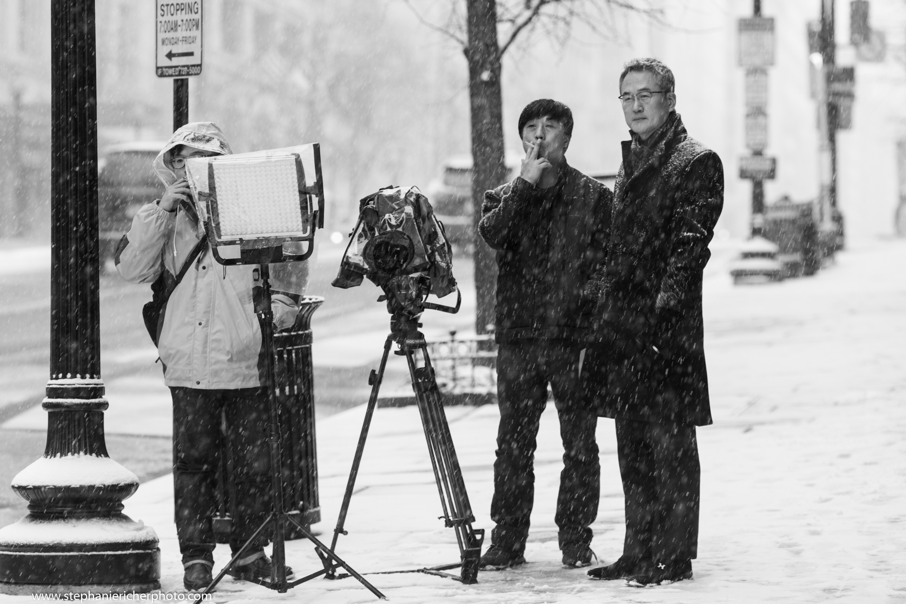 Japanese documentary makers making a documentary about Japanese tourists in America.