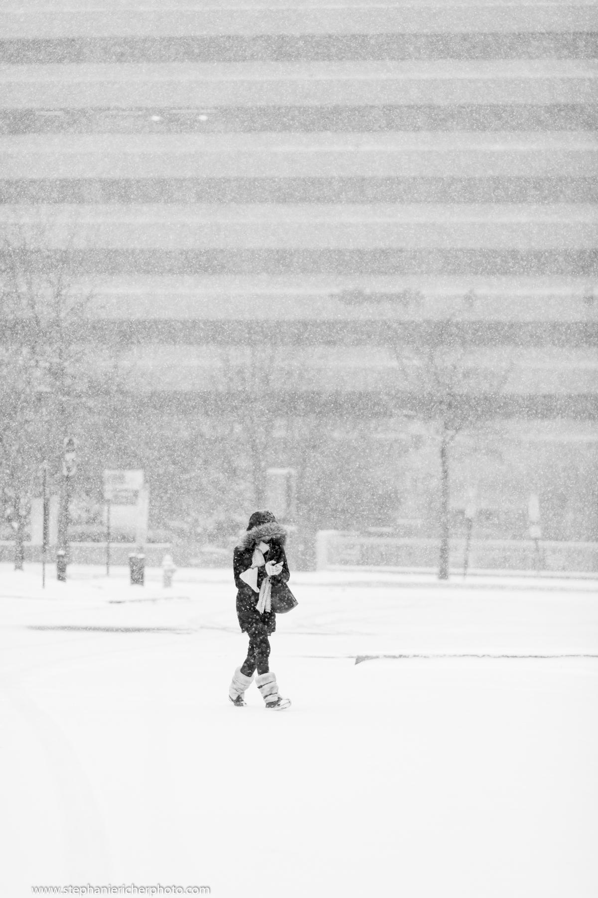 Walking home in Arlington, VA