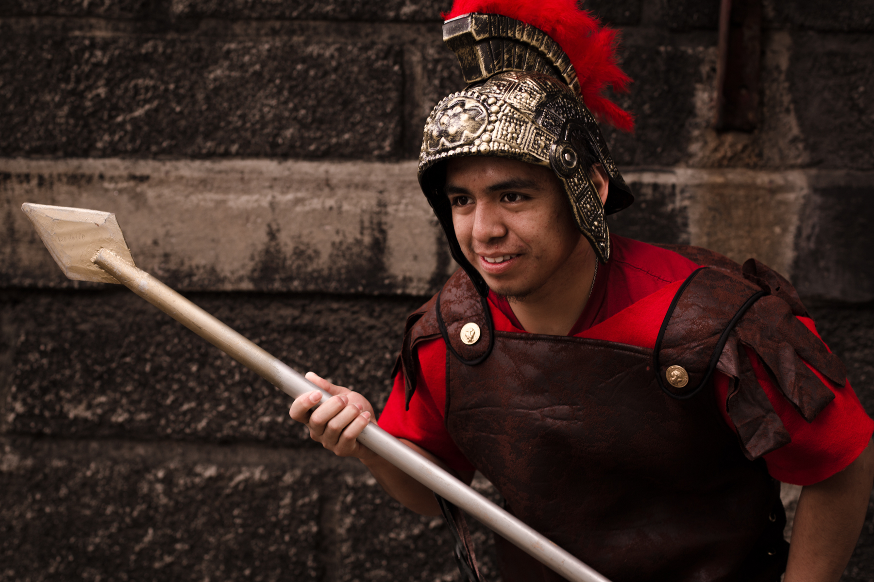 Young Roman Soldier