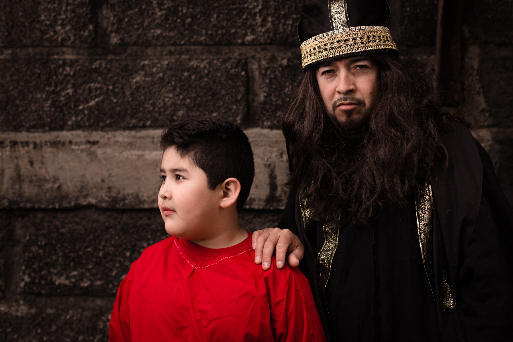 Anaias and Son
