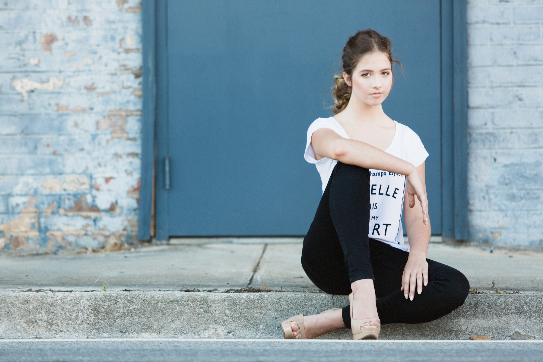 Carolina Houser, photographed in downtown Maryville, Tennessee.