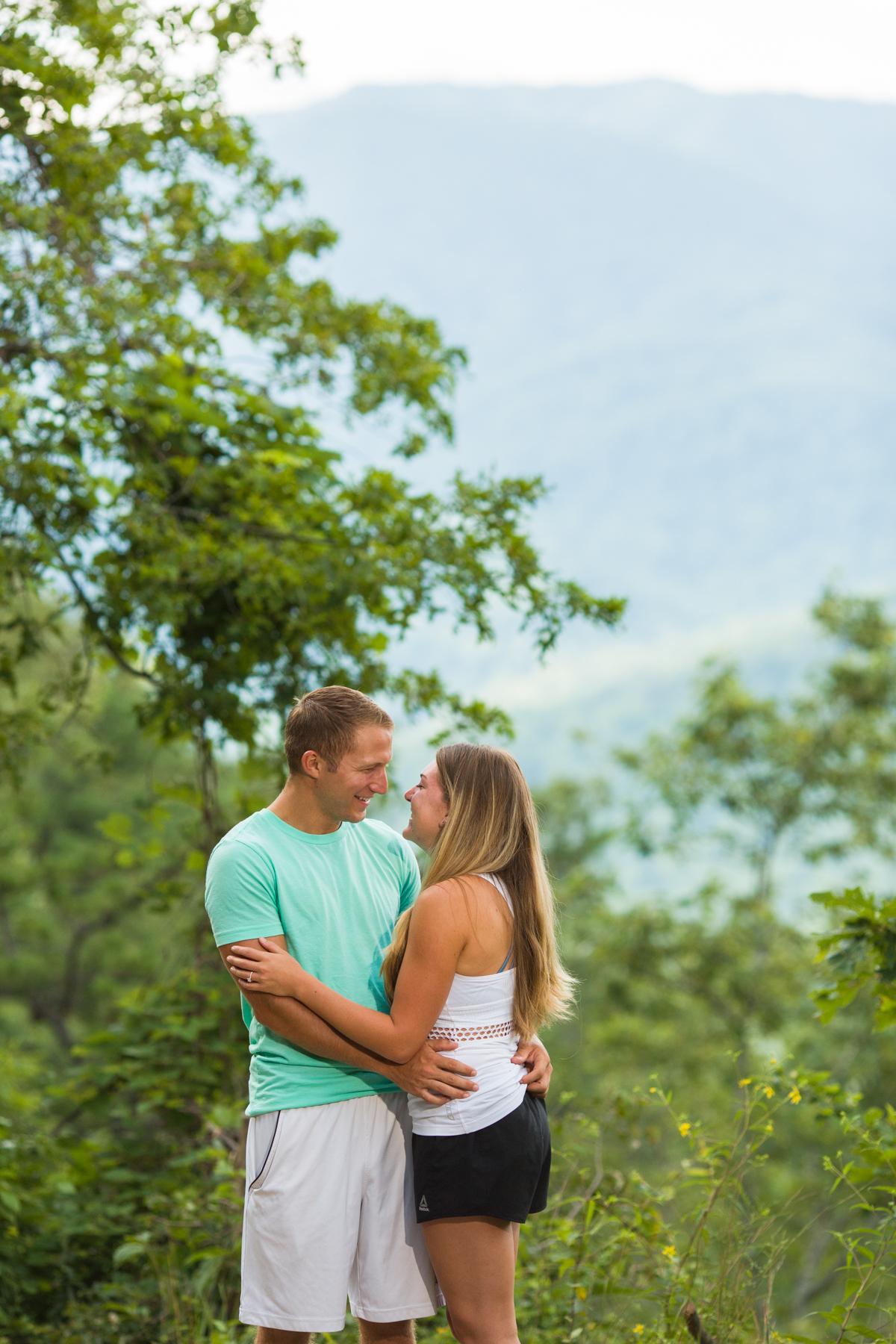 Beautiful mountains + Beautiful Couple = Beauty