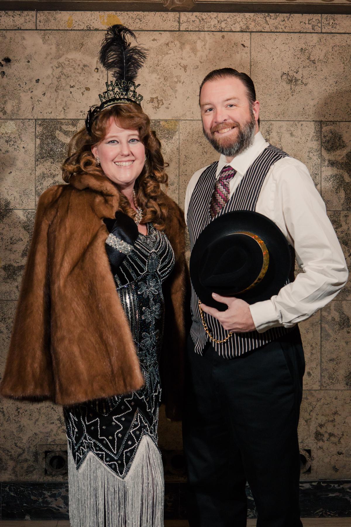 Molly Gilbert and her husband, Scott