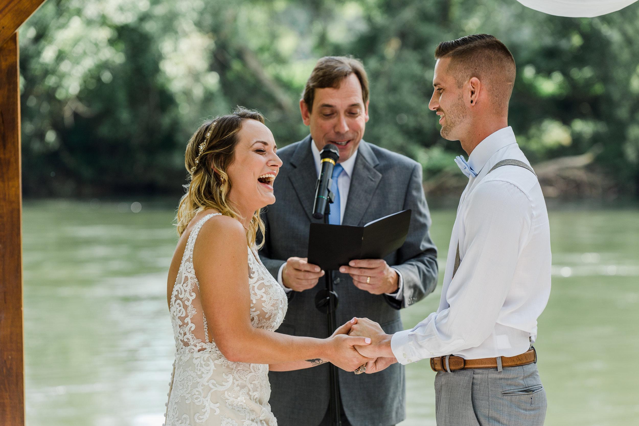 SARAH + CHASE - Hiwassee River Weddings & Events, Delano, TN