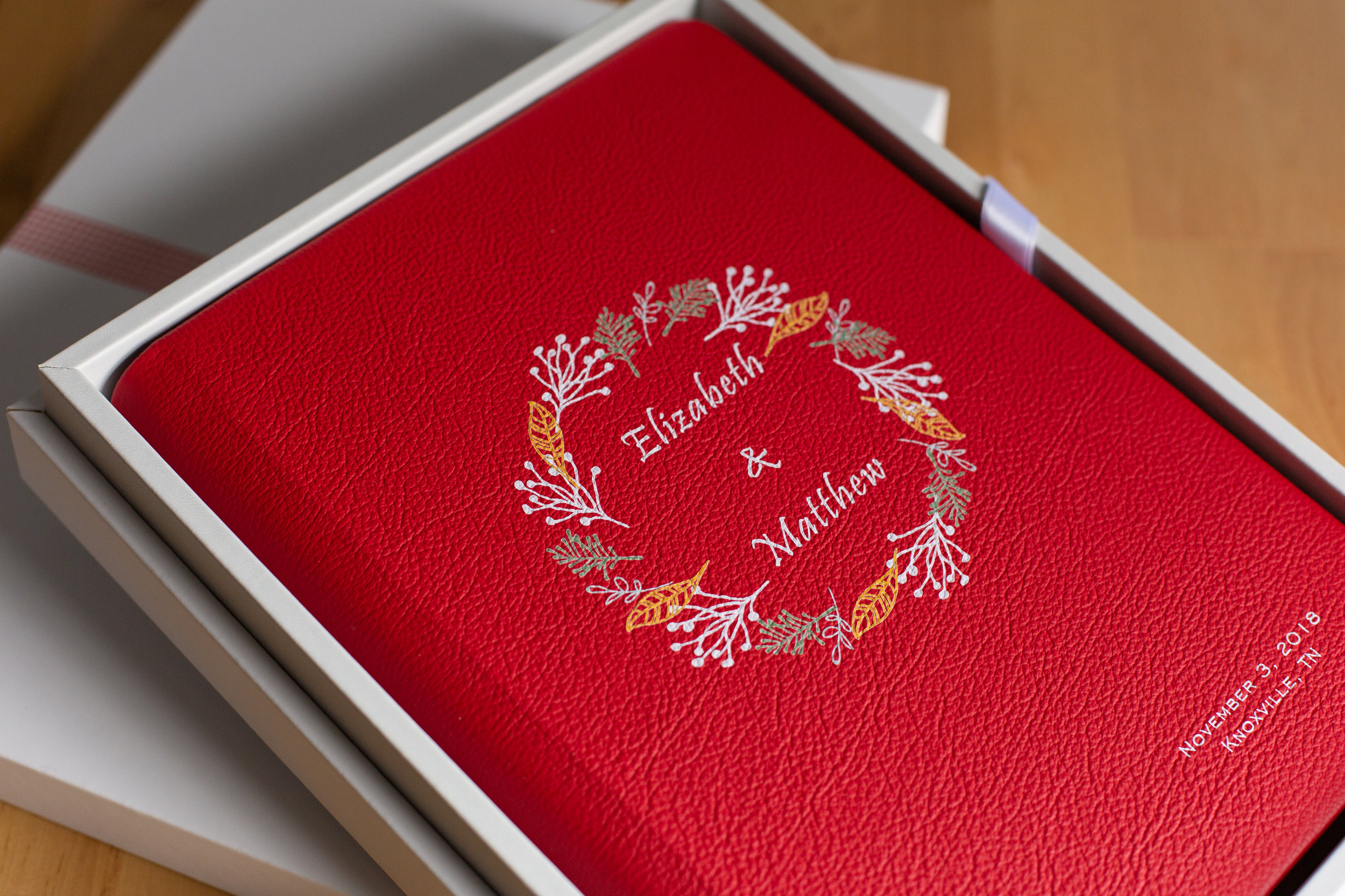 your wedding album is your first family heirloom -