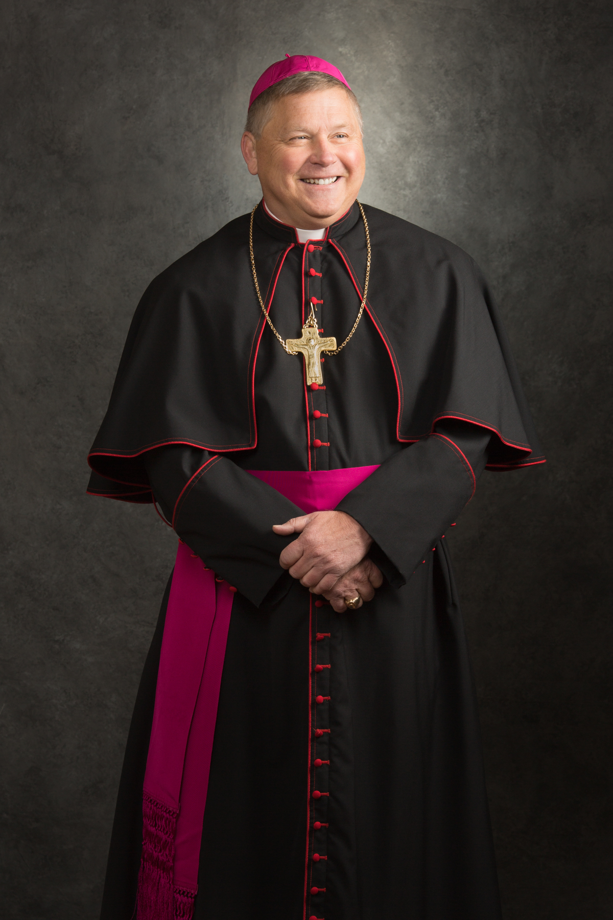 The Rev. Richard F. Stika, Bishop of Knoxville, official portrait displayed in the Cathedral of the Sacred Heart of Jesus