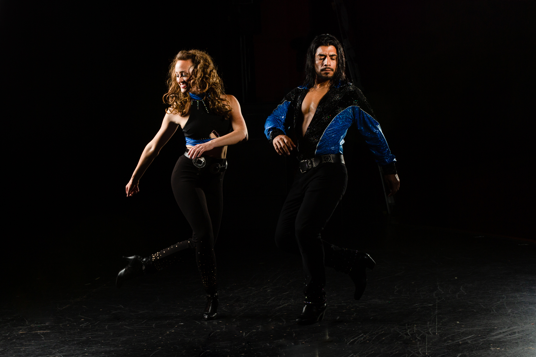 Publicity image for Amberlyn and Sebastian Sayago of GO GAUCHO, professional dancers