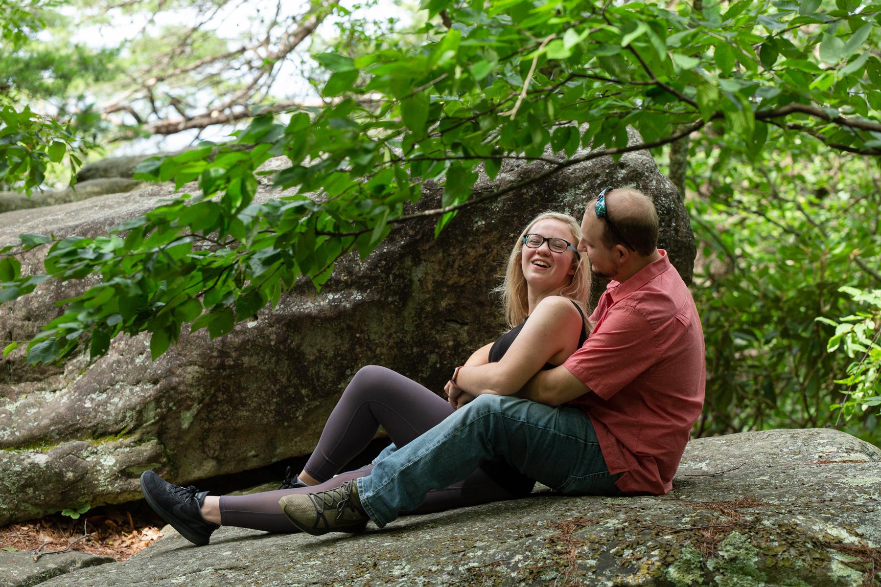 Happy Couple at Look Rock.jpg