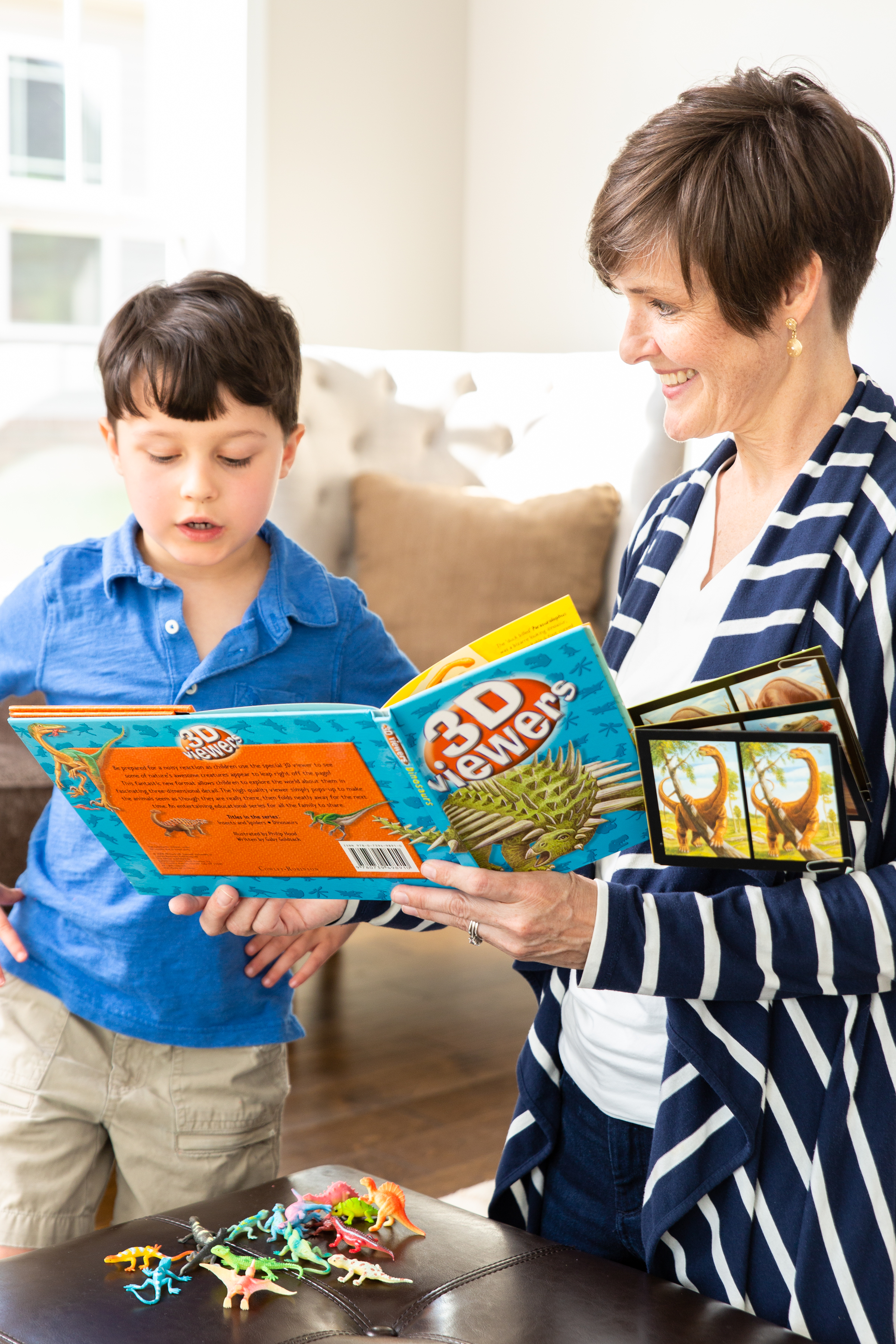 Speech Therapist With Young Boy