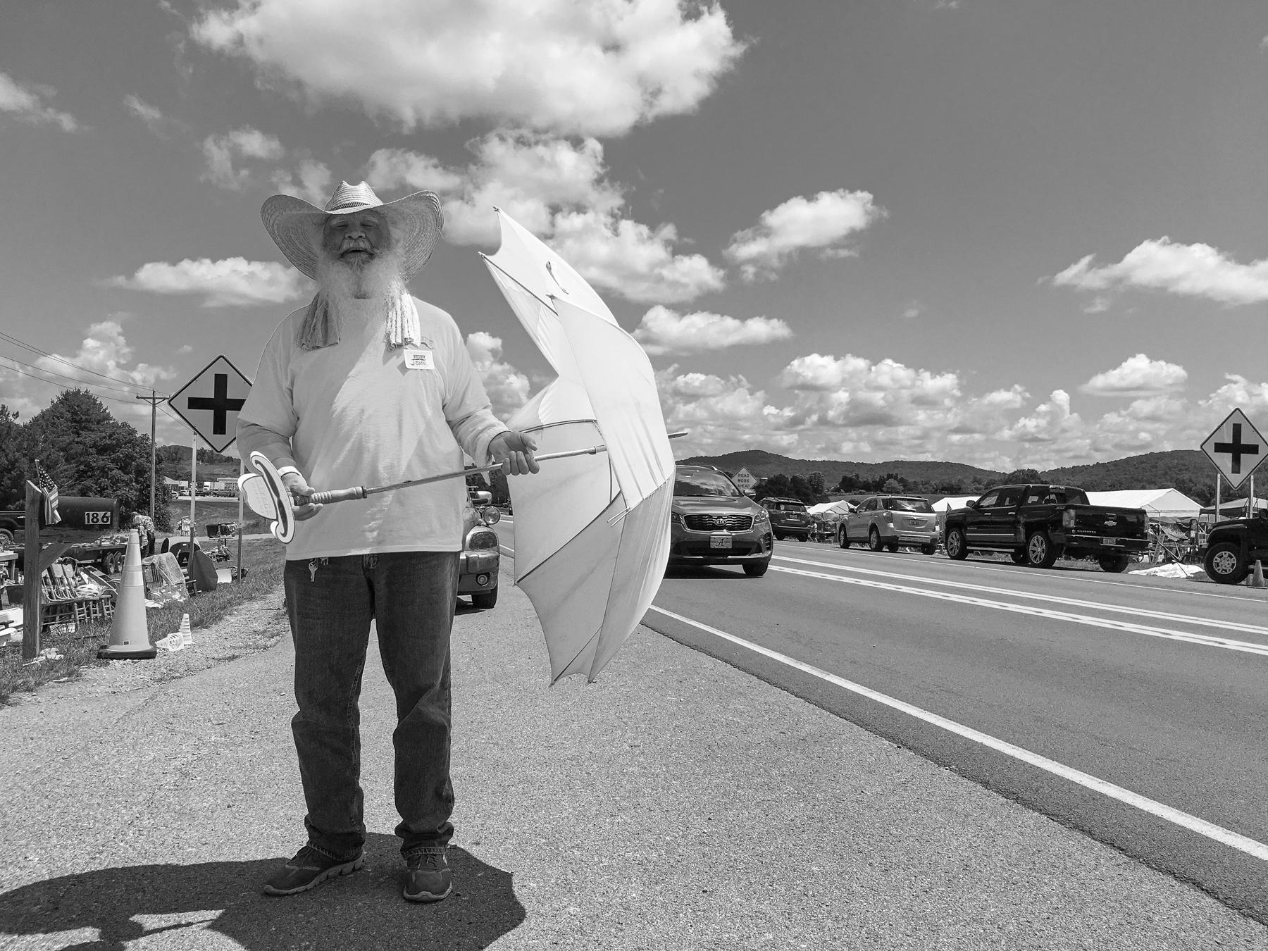 Directing traffic in Kentucky