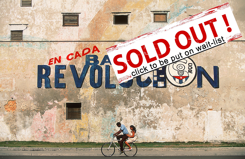 March 2-13, 2015  Havana & Trinidad  12 days   SOLD OUT.  Click  here  to be added to the wait-list