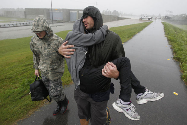 Stories on Hurricane Isaac for  The Times-Picayune , summer, 2012.