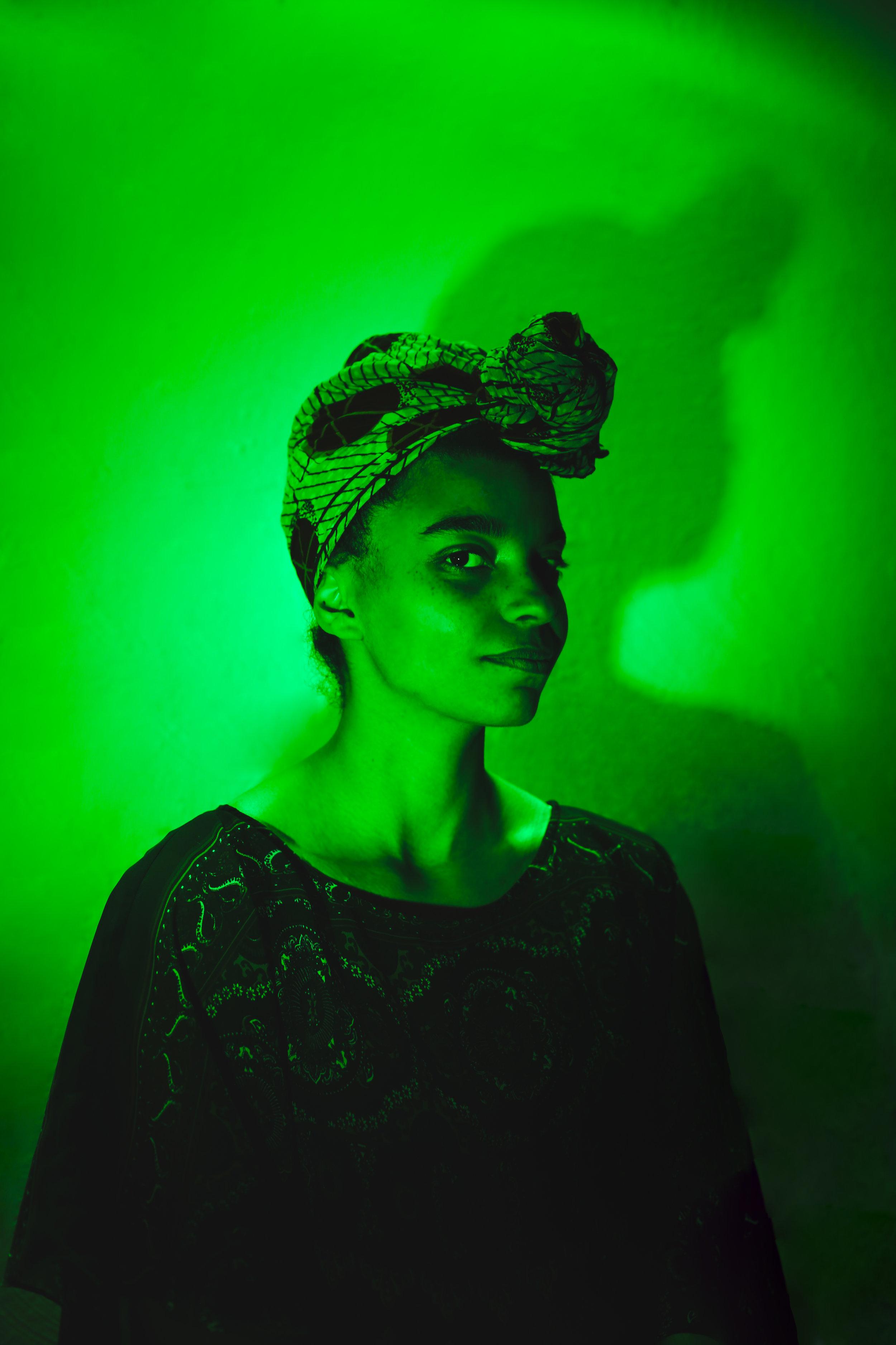 Maggie in Green | Heart Chakra
