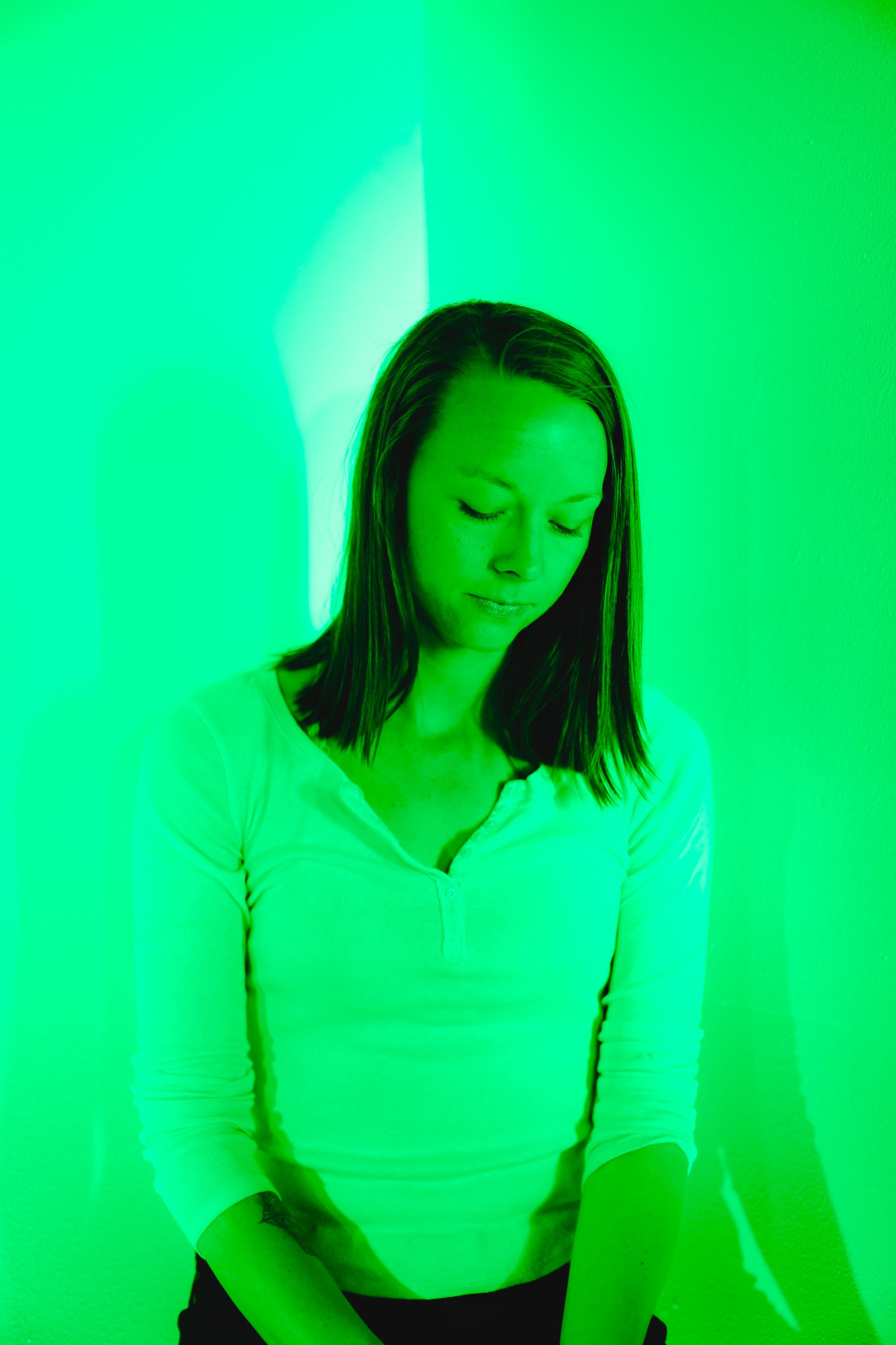 Cori in Green | Heart Chakra