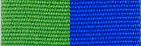 Green & Royal Blue