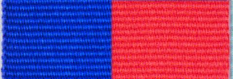 Royal Blue & Red