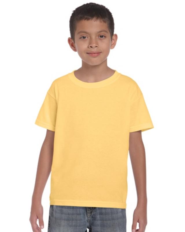 Gildan   5000B       Heavy Cotton™    Classic Fit Youth T-Shirt    5.3 oz. 100% Cotton