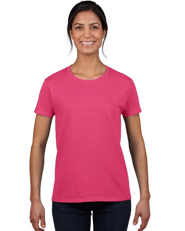 Gildan 2000L    Ultra Cotton™    Classic Fit Ladies T-Shirt    6.0 oz. 100% Cotton