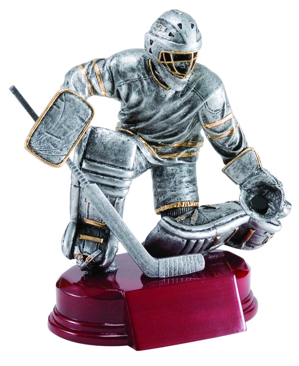 "Hockey, Goalie:   Large - Not Available  Medium - RFC-935 - 6.5""  Small - RFC-735 - 5.25"""