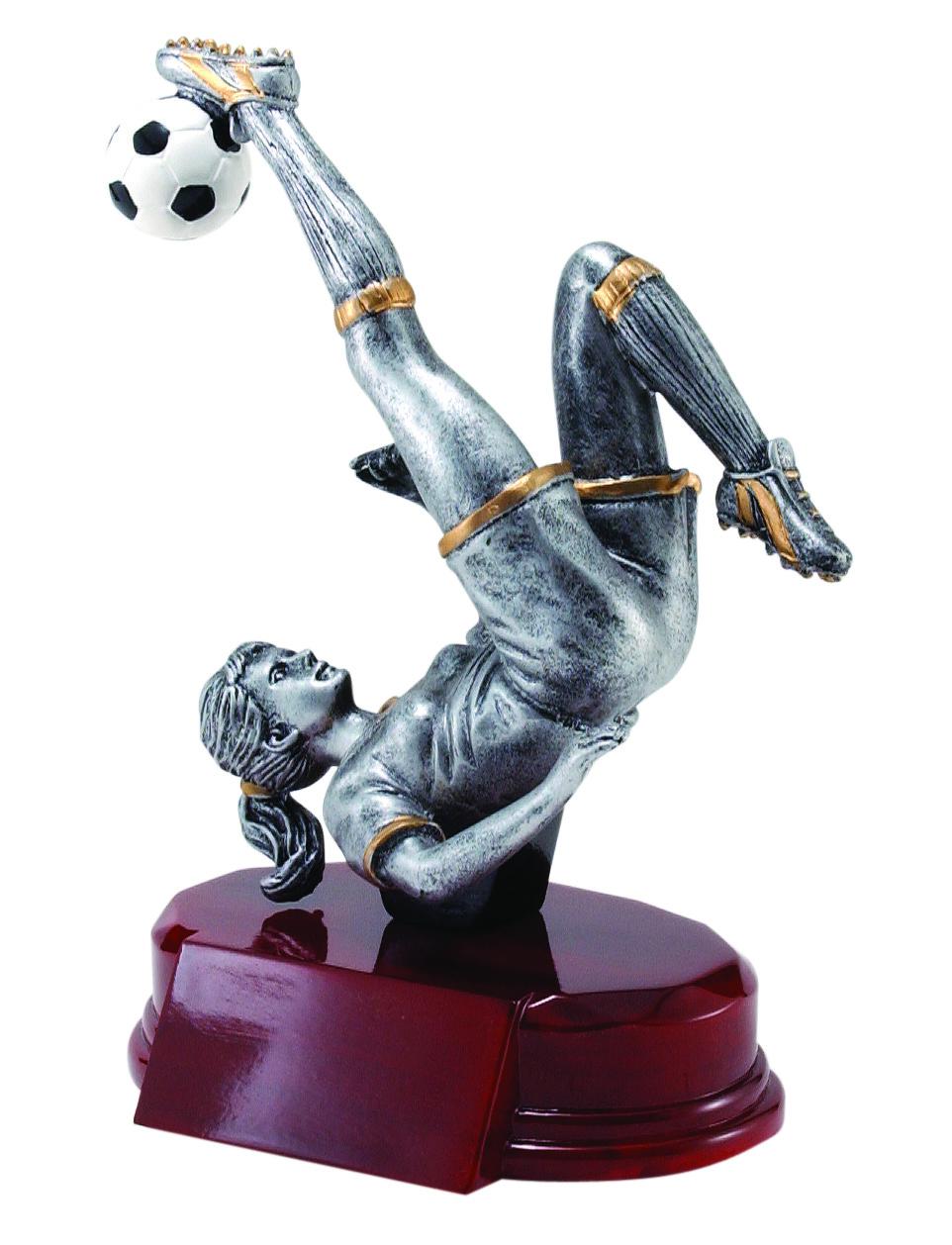 "Soccer, Female:   Large - RFC-1130 - 8.25""  Medium - RFC-930 - 7.25""  Small - RFC-730 - 5.25"""