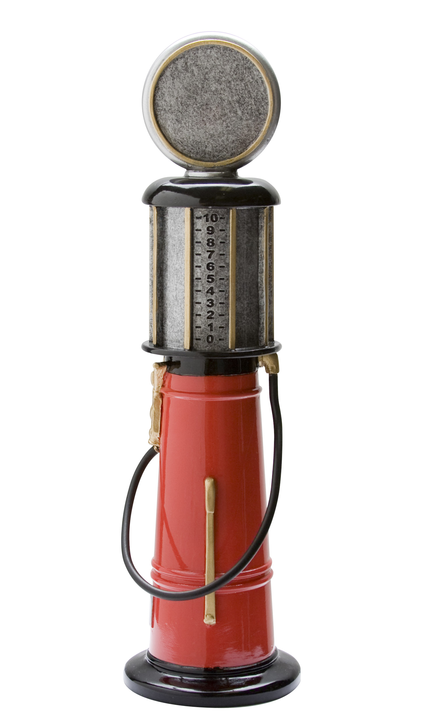 """Old Style Gas Pump:   Large - not available  Medium - RFC-1086 - 9""""  Small - not available"""
