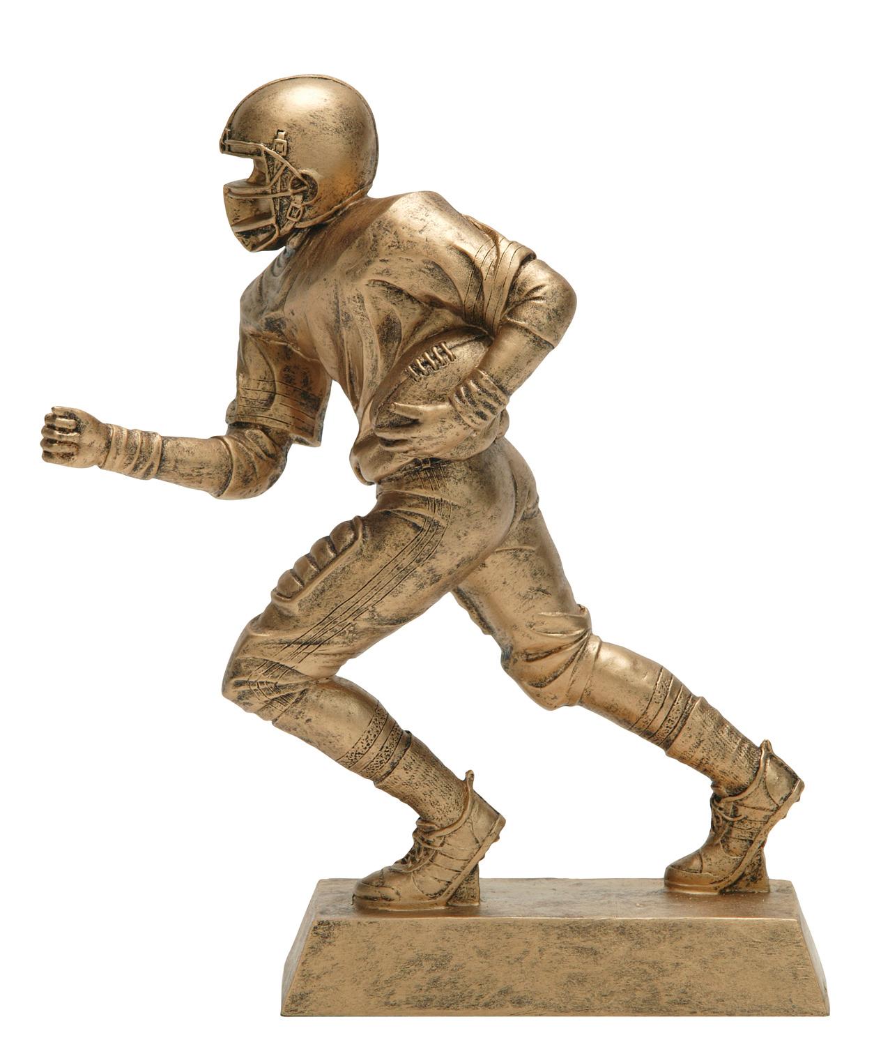 "Football Runner:   Large - 50600-G - 10.5""  Medium - 50500-G - 8.25"""