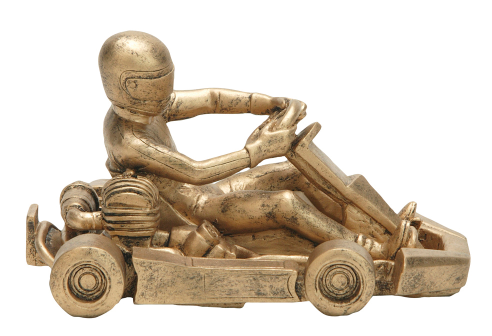 """Go-Kart 1:*   Large - 50805-G -  4.5"""" tall x 7"""" wide   *Special Pricing:   1-11 pieces =  $40   12-23 pieces =  $36   24-49 pieces =  $32   50+ pieces =  $28"""