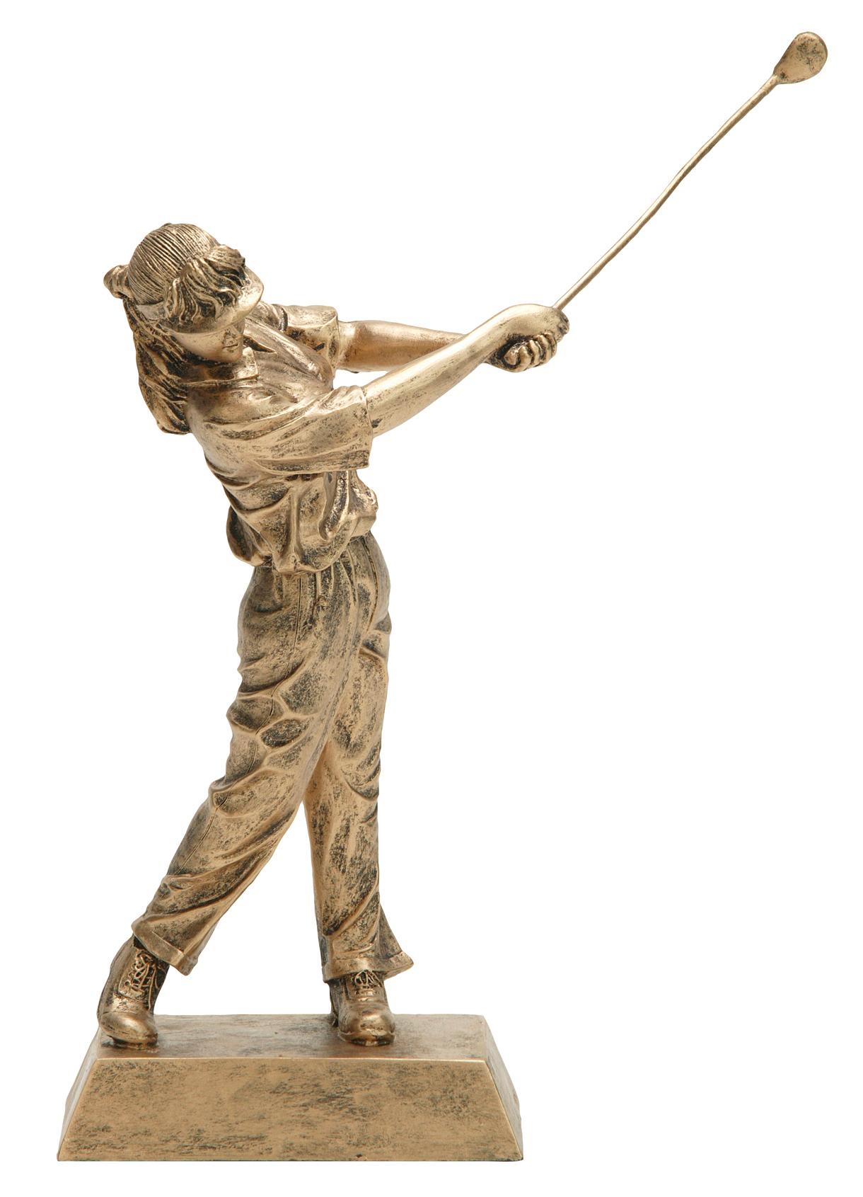 "Golf, Female:   Large - 50625-G - 10.5""  Medium - 50622-G - 7.75"""