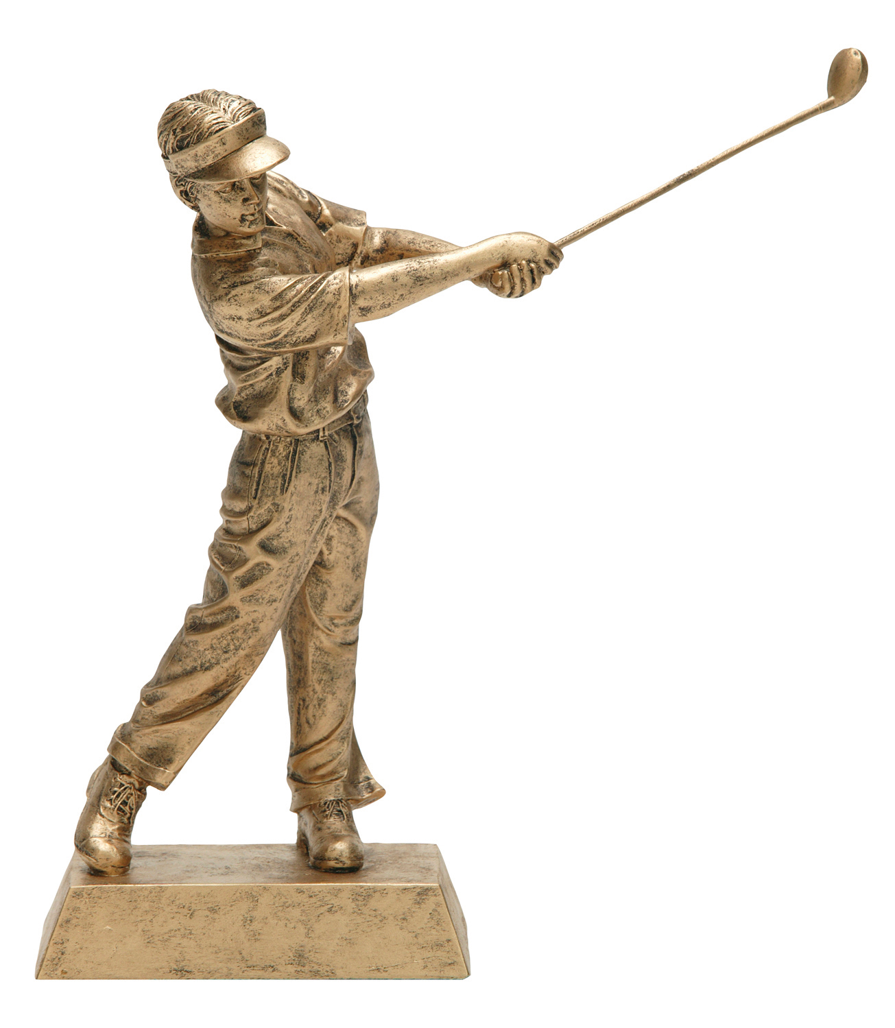 "Golf, Male:   Large - 50624-G - 10.5""  Medium - 50621-G - 8"""