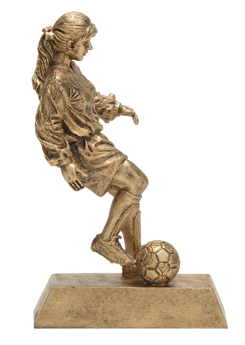 """Soccer, Female:   Medium - 50402-G - 8"""""""