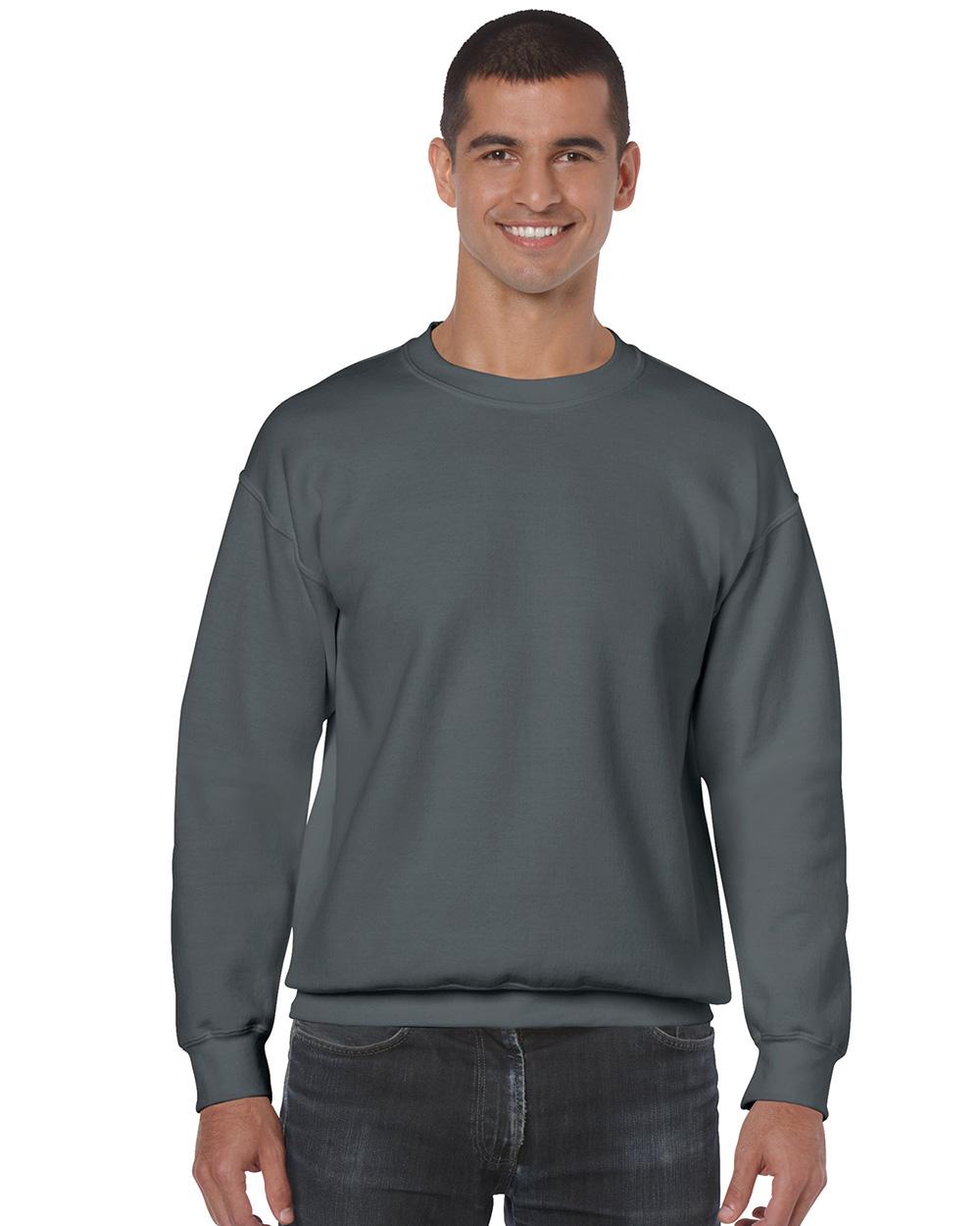 Gildan 18000     Classic Fit Adult Crewneck Sweatshirt    50% Cotton / 50% Polyester Fleece