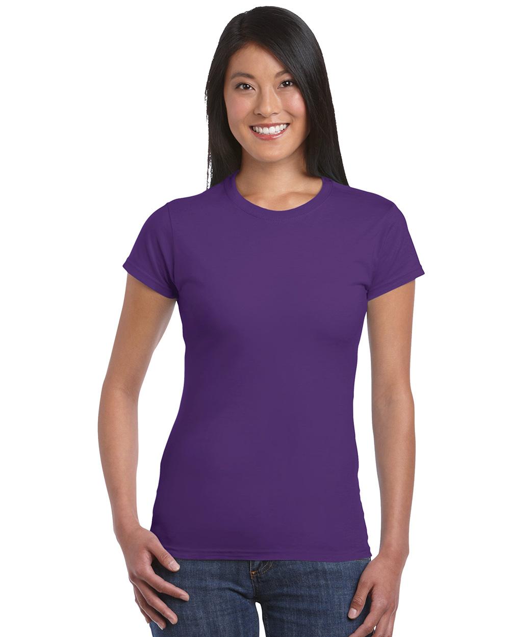 Gildan 64000L     Softstyle Junior Fit Ladies T-Shirt    4.5 oz. 100% Cotton