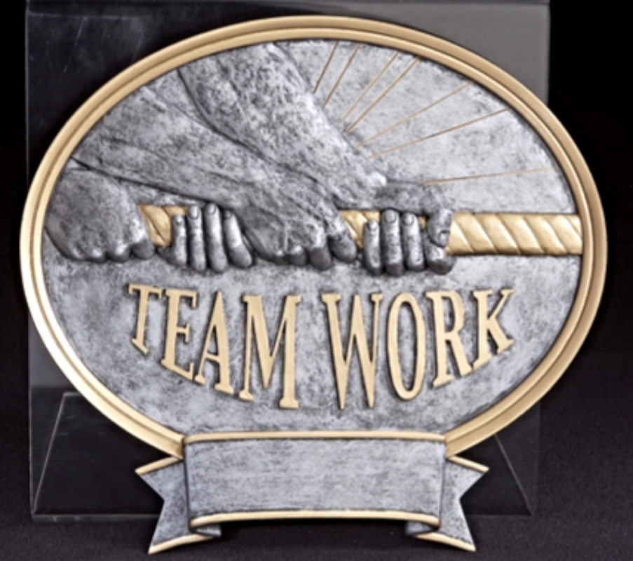 """Teamwork:   Small - not available  Large - 8"""" wide - 54640GS"""