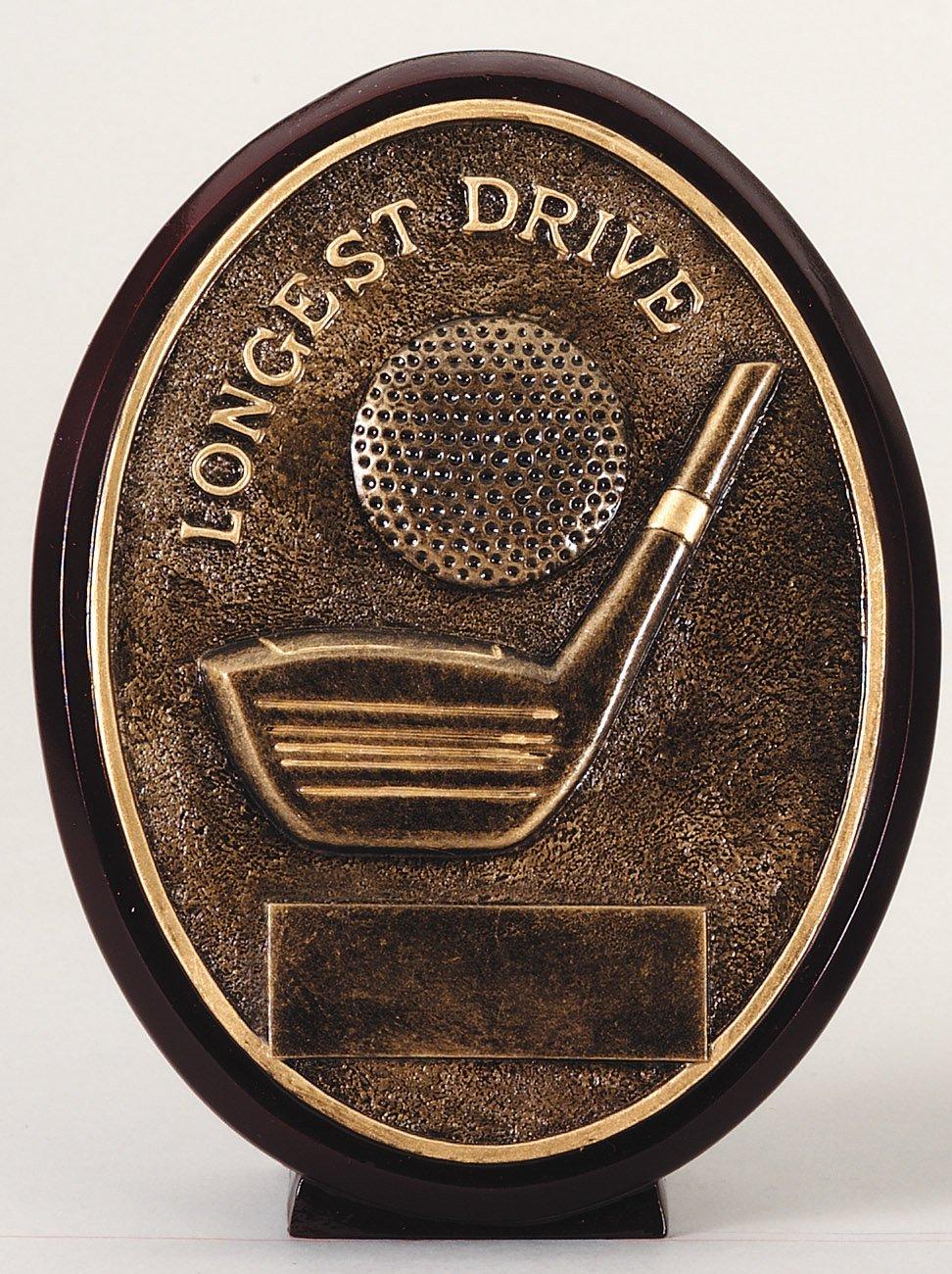 Longest Drive - Oval Resin